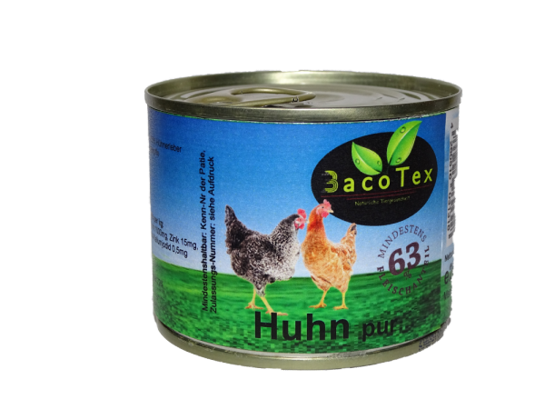 Huhn pur 200g Getreidefrei