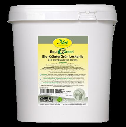 EquiGreen Bio-KräuterGrün Leckerlis
